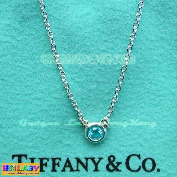 转全新Tiffany海蓝宝石项链 二手市场